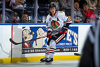 KELOWNA, BC - OCTOBER 20:  Henri Jokiharju #16 of the Portland Winterhawks skates against the Kelowna Rockets at Prospera Place on October 20, 2017 in Kelowna, Canada. (Photo by Marissa Baecker/Getty Images)