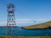 The Dursey Island Cable Car which oeprates to Dursey Island accros the Atlantic Sound in West Cork, Ireland<br /> Photo Don MacMonagle - macmonagle.com