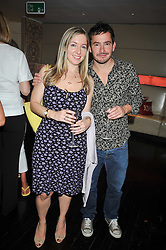 Writer & broadcaster Victoria Coren and Giles Coren at the launch of Tom Parker Bowles's new book 'Full English' held in the Gallery Restaurant, Selfridges, Oxford Street, London on 9th September 2009.