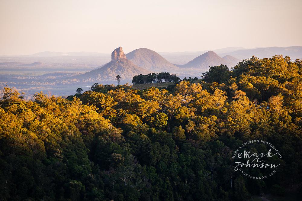 Mt Coonowrin, Glass House Mountains, Maleny, Sunshine Coast Hinterland, Queensland, Australia