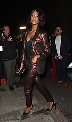 Celebrities attend the Vogue & Victoria Beckham Party, held at Mark's Club in Mayfair. 16 Sep 2018 Pictured: Jourdan Dunn. Photo credit: Will / MEGA TheMegaAgency.com +1 888 505 6342