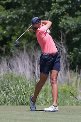 May 6, 2018 - The Colony, TX, U.S. - THE COLONY, TX - MAY 06: Cydney Clanton (USA) hits from the 4th tee during the Volunteers of America LPGA Texas Classic on May 6, 2018 at the Old American Golf Club in The Colony, TX. (Photo by George Walker/Icon Sportswire) (Credit Image: © George Walker/Icon SMI via ZUMA Press)