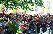 KONINGINNEDAG 2009 in Apeldoorn / Queensday 2009 in the city of Apeldoorn.<br /> <br /> Op de foto / On the Photo: