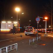 Dode man gevonden Monnickskamp Huizen, Pd, plaats delict, licht brandweer