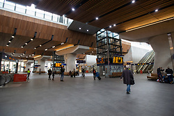 © Licensed to London News Pictures. 15/03/2020. London, UK. London Bridge Station appears quiet this afternoon . New cases of the COVID-19 strain of Coronavirus are being reported daily as the government outlines it's plans for controlling the outbreak. Photo credit: George Cracknell Wright/LNP