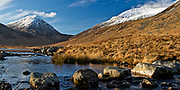 Stepping Stones over The Corran River, near Loch an T'Siob on Jura