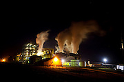 Arapora_MG, Brasil...Usina de cana-de-acucar Alvorada na BR 153 em Arapora...The sugar cane industry in the BR 153 in Arapora...Foto: LEO DRUMOND / NITRO