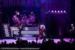 Hairball playing the Iron Horse Saloon during the 78th annual Sturgis Motorcycle Rally. Sturgis, SD. USA. Wednesday August 8, 2018. Photography ©2018 Michael Lichter.