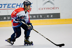 Shawn Gawrys of USA at IIHF In-Line Hockey World Championships 2011 Top Division quarter final match between National teams of USA and Germany on June 23, 2011, in Pardubice, Czech Republic. (Photo by Matic Klansek Velej / Sportida)
