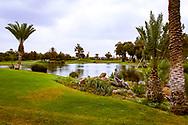 08-10-2015 - Golf du Soleil in Agadir. De 36 holes van Golf du Soleil werden ontworpen door Fernando Muela en Gerard Courbin.