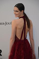 Mackenzie Drazan attending the 26th amfAR Gala held at Hotel du Cap-Eden-Roc during the 72nd Cannes Film Festival.