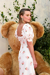 Margot Robbie attending the premiere of Goodbye Christopher Robin at Odeon Leicester Square, London. Photo credit should read: Doug Peters/EMPICS Entertainment