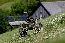 Multi-cultivator during 3rd Stage (219 km) at 19th Tour de Slovenie 2012, on June 16, 2012, in Skofja Loka, Slovenia. (Photo by Matic Klansek Velej / Sportida.com)