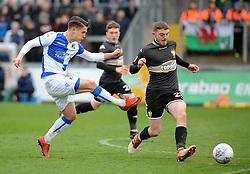 Tom Nichols of Bristol Rovers gets a shot away - Mandatory by-line: Neil Brookman/JMP - 30/03/2018 - FOOTBALL - Memorial Stadium - Bristol, England - Bristol Rovers v Bury - Sky Bet League One