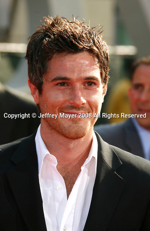 Actor Dave Annable arrives at the 2008 ESPY Awards held at NOKIA Theatre L.A. LIVE on July 16, 2008 in Los Angeles, California.