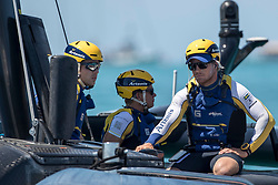 First day of the Louis Vuitton America's Cup Semi-finals postponed due to a lack of wind, Artemis Racing versus Softbank Team Japan, 4th of June, 2017, Bermuda