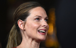 Actress Rebecca Ferguson poses for a picture during the U.S Premiere of 'Mission: Impossible - Fallout' at the National Air and Space Museum on July 22, 2018 in Washington, DC. Photo by Olivier Douliery/ Abaca Press