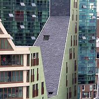Europe, Netherlands, Amsterdam. Modern Architecture of Amsterdam.