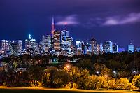 Toronto Skyline from Riverdale Park