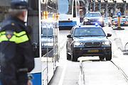 Nieuwjaarsreceptie in het Koninklijk Paleis op de dam voor  gasten die de Nederlandse samenleving vertegenwoordigen. /// New Year's reception at the Royal Palace on Damfor guests representing the Dutch society<br /> <br /> Op de foto / On the photo:  Aankomst Geert Wilders