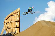 Martin Soderstrom during Mountain Bike Slopestyle Practice at the 2013 X Games Munich in Munich, Germany. ©Brett Wilhelm/ESPN