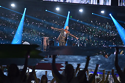 Justin Timberlake performs onstage during the Pepsi Super Bowl LII Halftime Show at U.S. Bank Stadium on February 4, 2018 in Minneapolis, Minnesota. Photo by Lionel Hahn/ABACAPRESS.COM