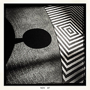 Monochrome abstract photography by ETS