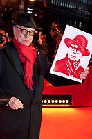 Festival Director Dieter Kosslick with a portrait of himself presented to him by fans at the Award Ceremony red carpet at the 69th Berlinale International Film Festival, on Saturday 16th February 2019, Berlinale Palast, Berlin, Germany.