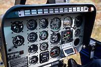 Helicoper controls, Sarek National Park, Laponia World Heritage Site, Sweden