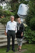 IZAK UZIYEL; FREDA UZIYEL, Dinner to celebrate the 10th Anniversary of Contemporary Istanbul Hosted at the Residence of Freda & Izak Uziyel, London. 23 June 2015