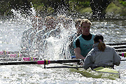 Peter Spurrier Sports  Photo<br />email pictures@rowingpics.com<br />Tel 44 (0) 7973 819 551<br /><br />Photo Peter Spurrier<br />26/03/2002<br />2002 Varsity Boat Race-Tideway week<br />Tuesday morning training session 20020327 University Boat Race, [Varsity],  Tideway Week. Putney. London