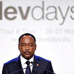 26 November 2013 - Belgium - Brussels - European Development Days - EDD - A vision for the post-2015 agenda - Mahamadou Issoufou - President of Niger © European Union