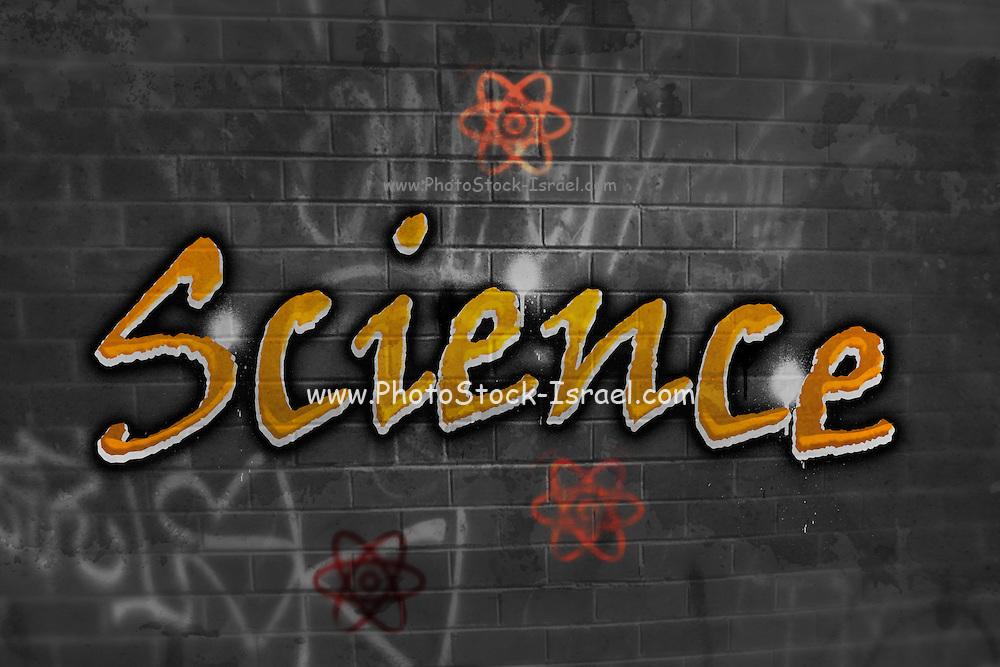 Science Graffiti on a wall
