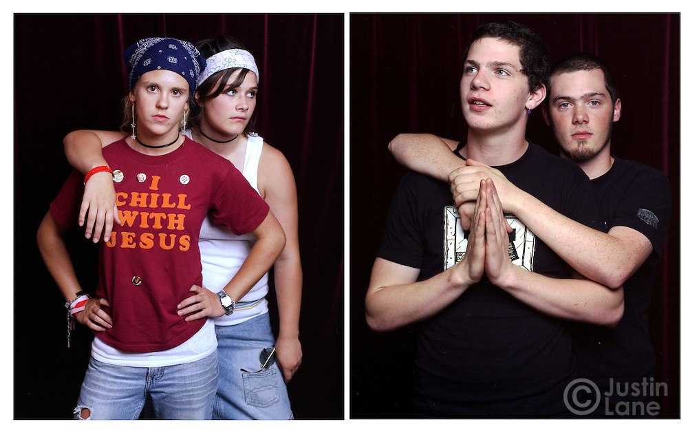 Portraits of young Christians in the United States.