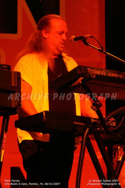 PONTIAC, MI, FRIDAY, AUG. 31, 2007: Mark Farner,  Arts Beats & Eats at Phoenix Center, Pontiac, MI, 08/31/2007. (Image Credit: Michael Spleet / 2SnapsUp Photography)