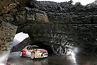MOTORSPORT - WORLD RALLY CAR CHAMPIONSHIP 2014 - MONTE CARLO RALLY  - MONACO / GAP / MONACO 16 TO 19/01/2014 - PHOTO: ALEXANDRE GUILLAUMOT / DPPI<br /> 04	CITROEN TOTAL ABU DHABI WRT (FRA) / OSTBERG MADS ANDERSSON JONAS - (NOR SWE) / CITROEN DS3 - ACTION