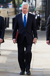 Cabinet Office, London, June 4th 2017. Defence Secretary Michael Fallon arrives at the Cabinet Office in Whitehall for the emergency COBRA Committee meeting following the London Bridge and Borough Markets terrorist incident overnightwhich claimed the lives of six members of the public and injured over twenty more.
