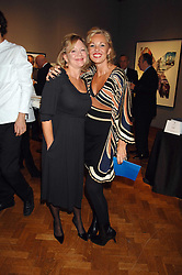 Left to right, KAY SAATCHI and AMANDA ELAISCH  at an auction in aid of The Parkinson's Appeal for Deep Brain Stimulation 'Meeting of Minds' held at Christie's, King Street, London SW1 followed by a dinner at St.John, 26 St.John Street, London on 16th October 2007.<br /><br />NON EXCLUSIVE - WORLD RIGHTS