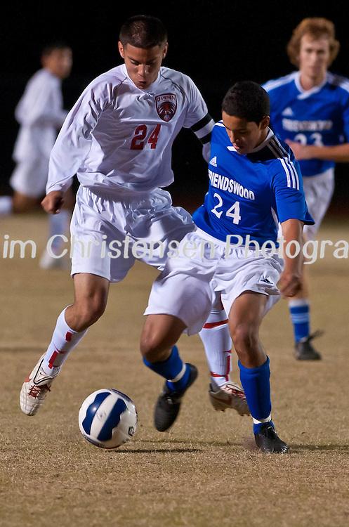Friendswood Varsity Soccer won against Dawson  03/04/11.