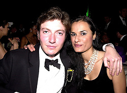 VISCOUNT WEYMOUTH son of the Marquess of Bath and MISS JACQUELINE RIBIERO, <br /> at a party in London on 3rd June 2000.OEZ 37<br /> © Desmond O'Neill Features:- 020 8971 9600<br />    10 Victoria Mews, London.  SW18 3PY <br /> www.donfeatures.com   photos@donfeatures.com<br /> MINIMUM REPRODUCTION FEE AS AGREED.<br /> PHOTOGRAPH BY DOMINIC O'NEILL