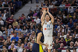 March 2, 2018 - Madrid, Madrid, Spain - Jaycee Carroll during Fenerbahce Dogus Istanbul victory over Real Madrid (83 - 86) in Turkish Airlines Euroleague regular season game (round 24) celebrated at Wizink Center in Madrid (Spain). March 2nd 2018. (Credit Image: © Juan Carlos Garcia Mate/Pacific Press via ZUMA Wire)
