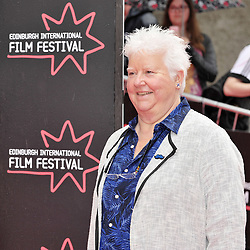 "Edinburgh International Film Festival, Sunday 26th June 2016<br /> <br /> Stars turn up on the closing night gala red carpet for the World Premiere of ""Whisky Galore!""  at the Edinburgh International Film Festival 2016<br /> <br /> Val McDermid<br /> <br /> (c) Alex Todd 