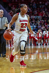 NORMAL, IL - December 20: Viria Livingston during a college women's basketball game between the ISU Redbirds and the St. Louis Billikens on December 20 2018 at Redbird Arena in Normal, IL. (Photo by Alan Look)