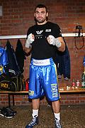 BOXEN: Schwergewicht, Göppingen, 08.02.2020<br /> Victor Faust (UKR) - Andrei Mazanik (BLR)<br /> © Torsten Helmke