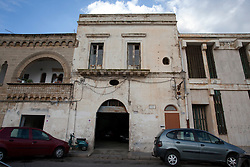 Centro storico di Gallipoli nei pressi del porto turistico.