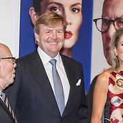 NLD/'Amsterdam/20170915 - Willem-Alexander en Máxima bij première 'Ode aan de Meester', Koningin Maxima en Koning Willem Alexander, Hans van Manen