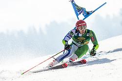 KRANJEC Zan of Slovenia competes during the Audi FIS Alpine Ski World Cup Men's Giant Slalom 58th Vitranc Cup 2019 on March 9, 2019 in Podkoren, Kranjska Gora, Slovenia. Photo by Matic Ritonja / Sportida