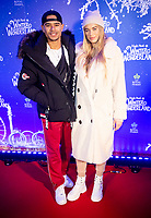 Wes Nelson and Arabella Chi at the  Hyde Park Winter Wonderland launch, London, UK - 20 Nov 2019
