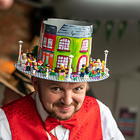 REPRO FREE<br /> Comedian Aidan Comerford pictured at the 43nd Kinsale Gourmet Festival Mad Hatters Taste of Kinsale.<br /> Picture. John Allen