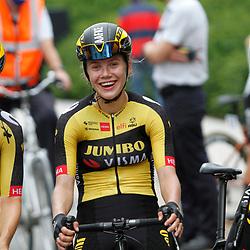 ZULTE (BEL) July 11 CYCLING: <br /> 4th Stage Baloise Belgium tour <br /> Aafke Soet, Jip van den Bos